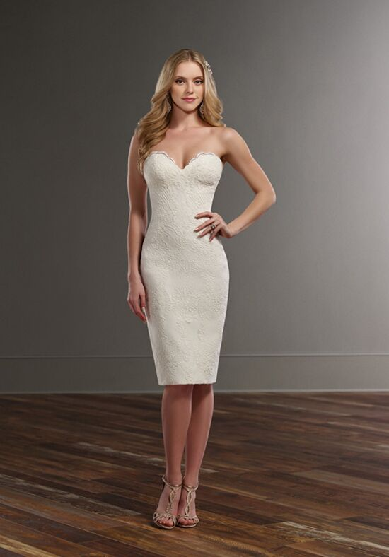 Martina Liana Darcy Sheath Wedding Dress