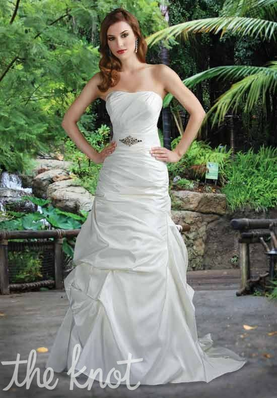 DaVinci Bridal 50012 A-Line Wedding Dress