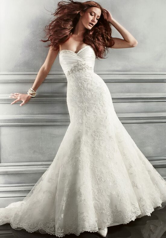 Amaré Couture B047 Mermaid Wedding Dress