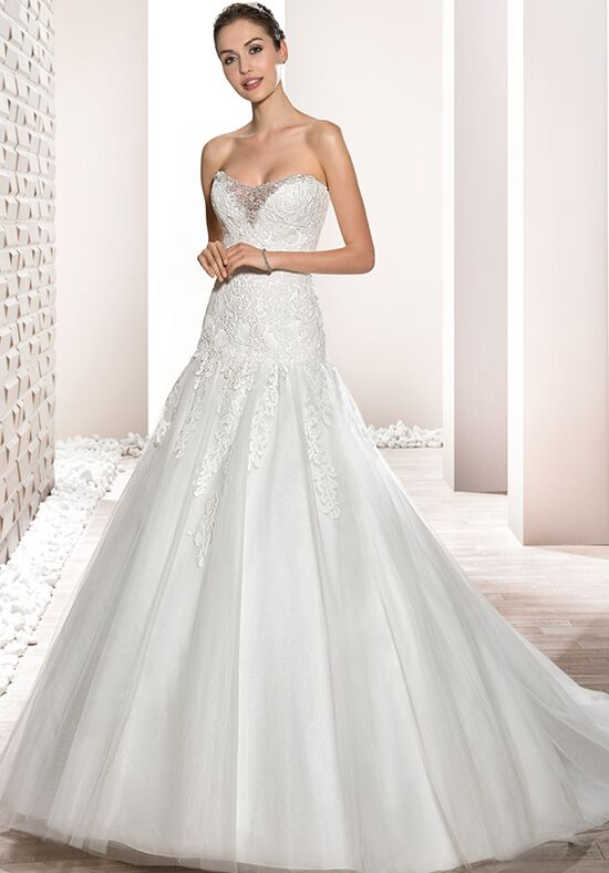 Demetrios 684 Mermaid Wedding Dress