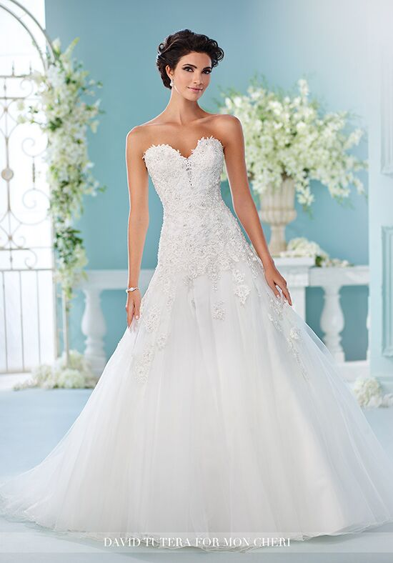 David tutera for mon cheri 216241 kalapini wedding dress for David tutera beach wedding dresses