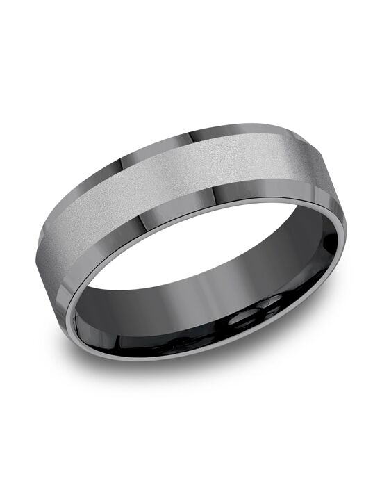 Benchmark CF67416TA Tantalum Wedding Ring