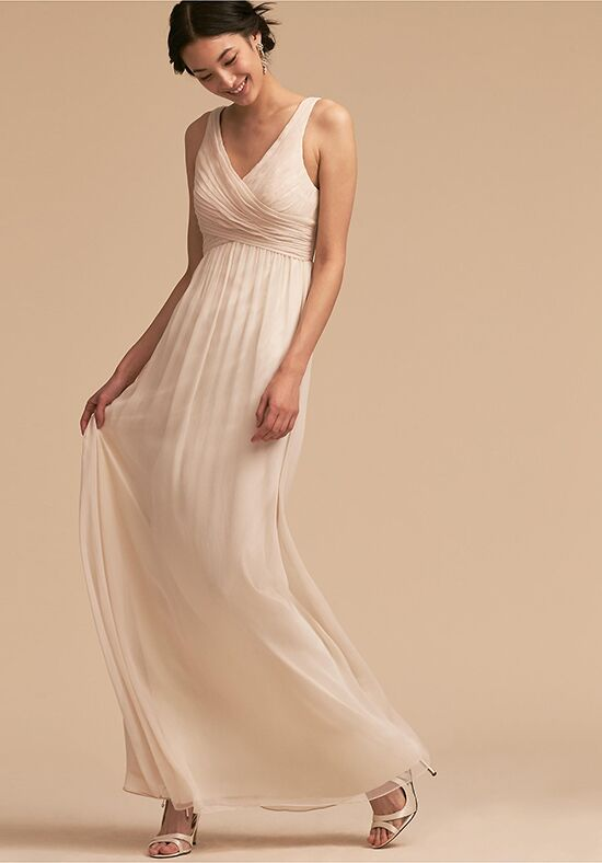 BHLDN (Bridesmaids) Angie Dress V-Neck Bridesmaid Dress