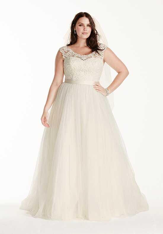 David's Bridal David's Bridal Collection Style 9WG3741 Ball Gown Wedding Dress