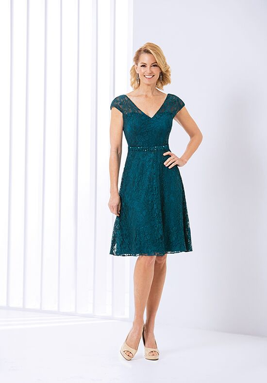 Jasmine Black Label M180055 Green Mother Of The Bride Dress