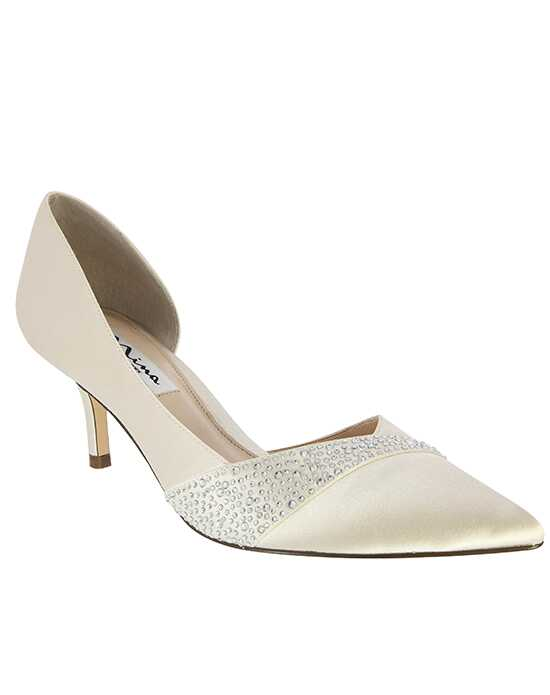 Nina Bridal Wedding Accessories Bethany_Ivory Ivory Shoe