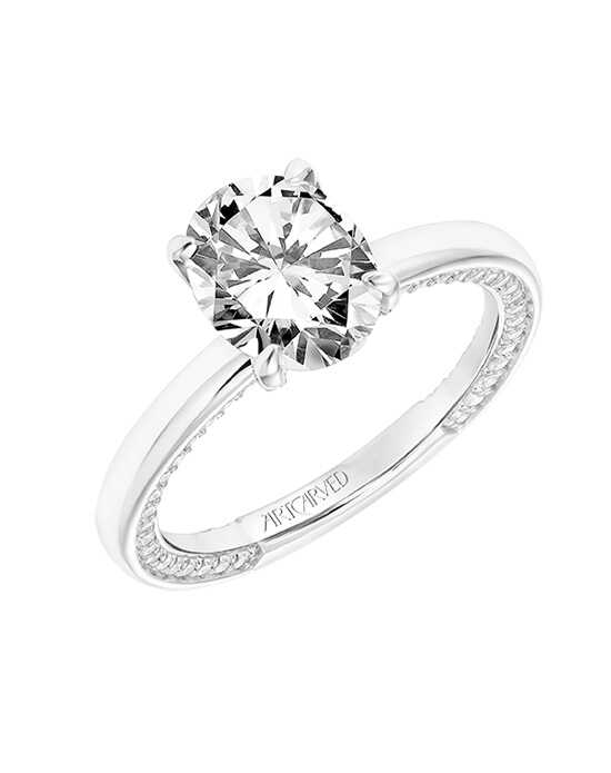 ArtCarved 31-V802GVW Engagement Ring photo