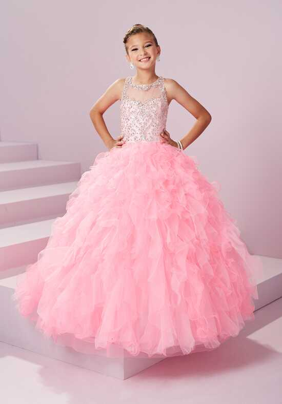 Tiffany Princess 13497 Flower Girl Dress