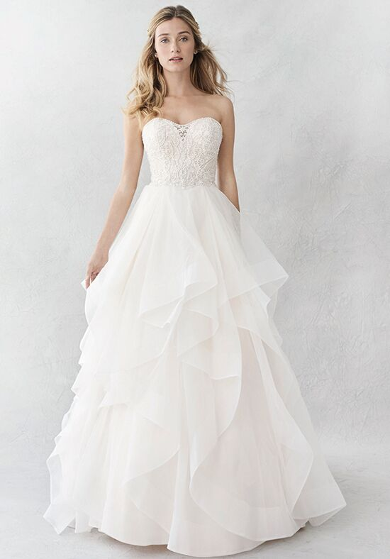 kenneth winston ella rosa collection be377 wedding dress the knot