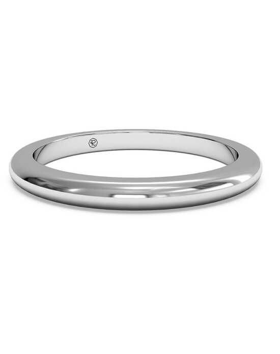 Ritani Women's Classic Wedding Band - in 14kt White Gold White Gold Wedding Ring