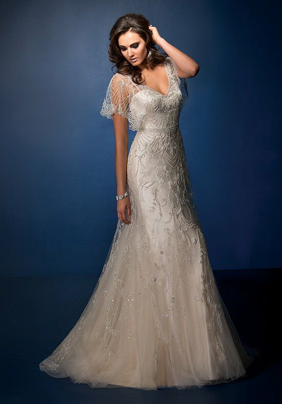 Jasmine Couture T162067 A-Line Wedding Dress