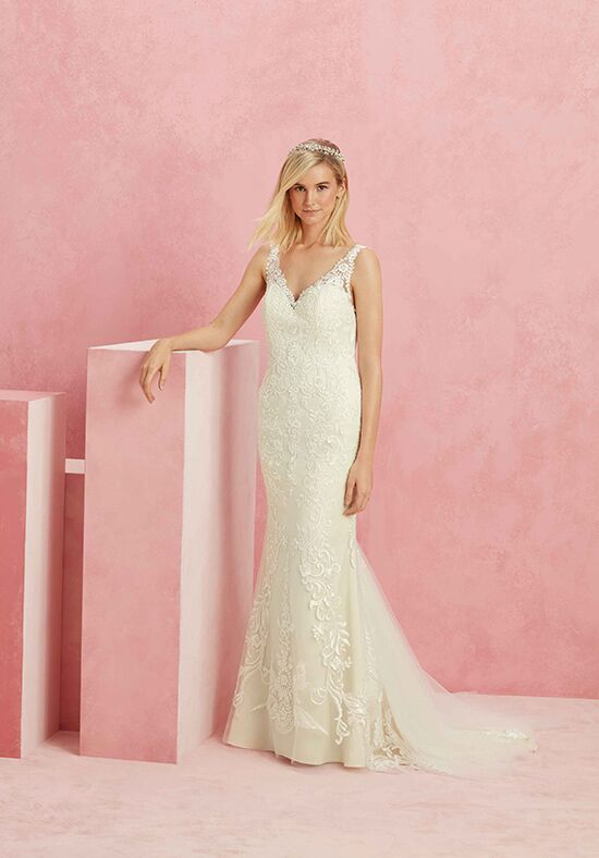 Beloved by Casablanca Bridal BL229 Intrigue Sheath Wedding Dress