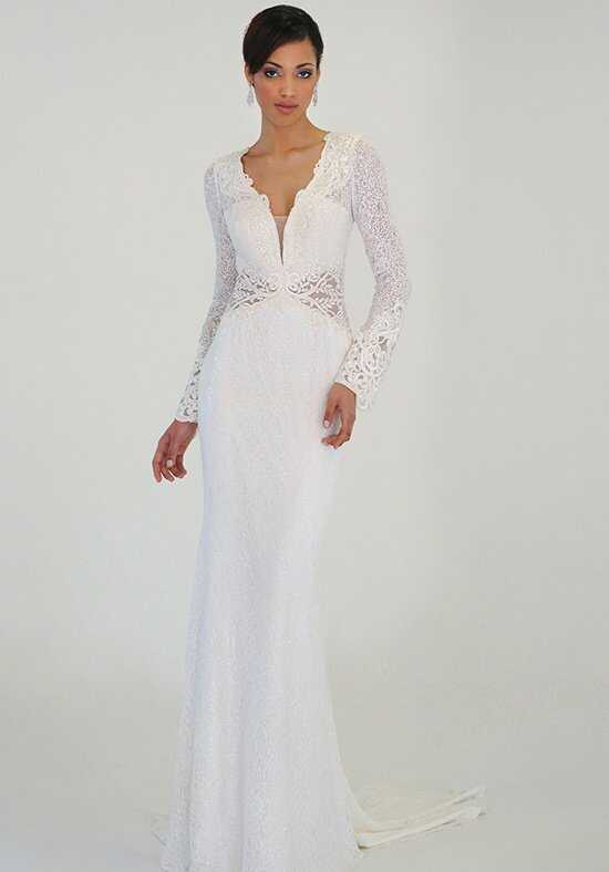 "Eugenia 3923- ""Flora"" Sheath Wedding Dress"