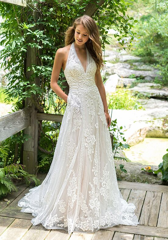 Lillian West 66017 A-Line Wedding Dress