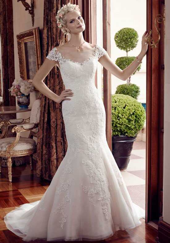 Casablanca Bridal 2192 Mermaid Wedding Dress