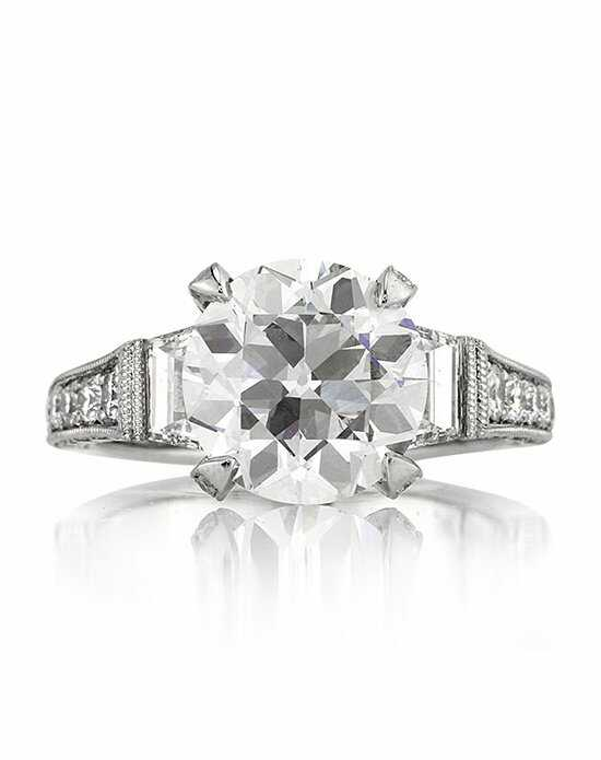 Mark Broumand Glamorous Cut Engagement Ring