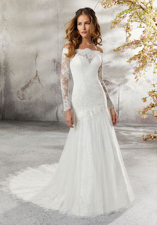Morilee by Madeline Gardner/Blu 5686 / Lillian Mermaid Wedding Dress