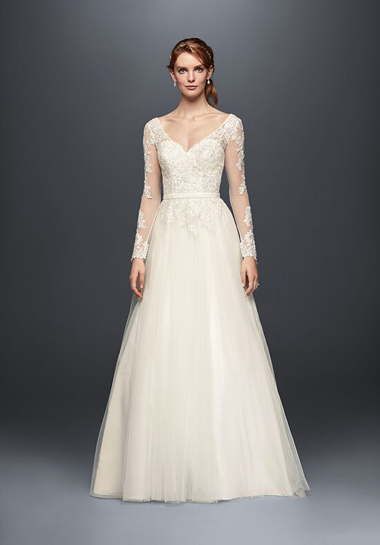 David's Bridal David's Bridal Collection Style WG3831 A-Line Wedding Dress