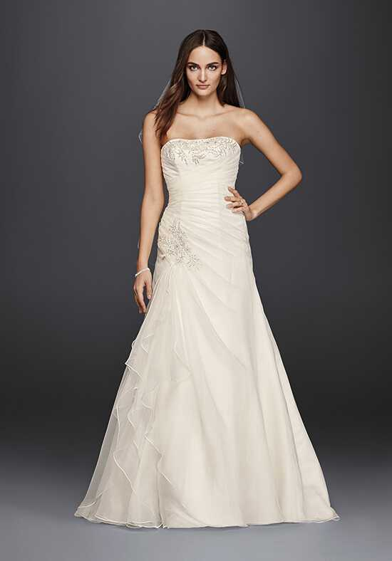 David's Bridal David's Bridal Collection Style WG3807 A-Line Wedding Dress