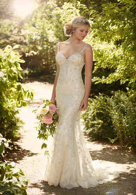 Essense of Australia D2079 Sheath Wedding Dress