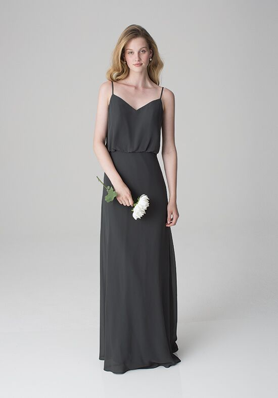 Bill Levkoff 1266 V-Neck Bridesmaid Dress