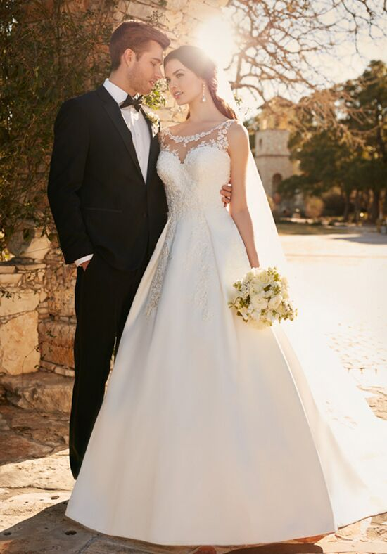 Essense of Australia D2152 Ball Gown Wedding Dress