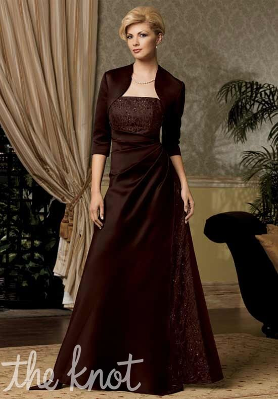 Caterina 6022 Brown Mother Of The Bride Dress
