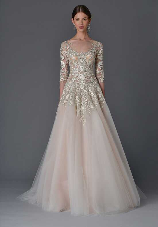 Marchesa Dhalia A-Line Wedding Dress