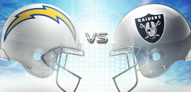 Image result for LA Chargers vs. Oakland Raiders