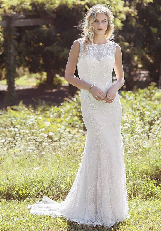 Lillian West 6490 Mermaid Wedding Dress