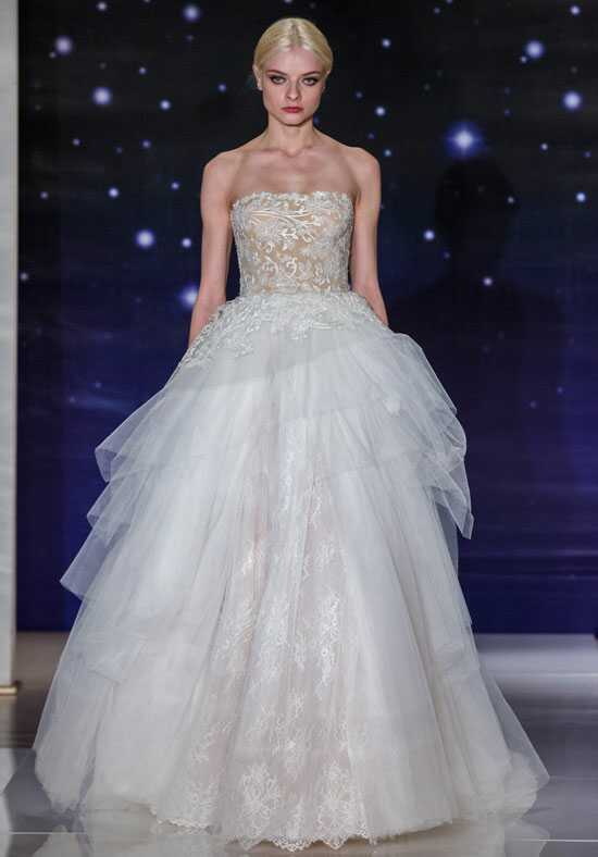 Reem Acra She's Heavenly Ball Gown Wedding Dress