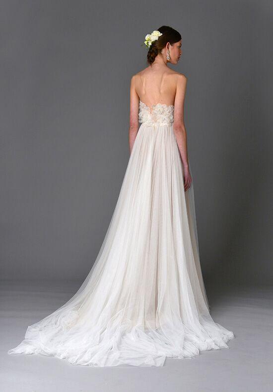 Marchesa heather wedding dress the knot for Marchesa wedding dress price