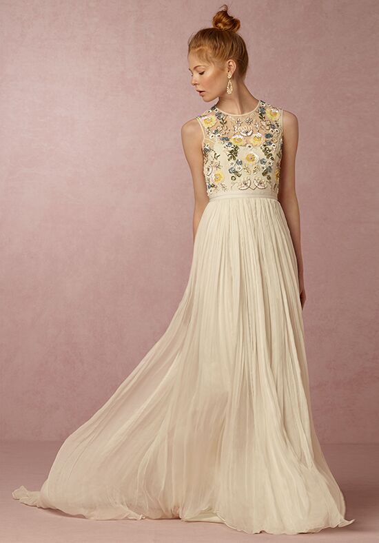 Bhldn paulette dress wedding dress the knot for How do you preserve a wedding dress
