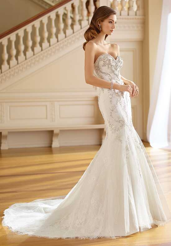 David Tutera for Mon Cheri 217211 Ruth Mermaid Wedding Dress