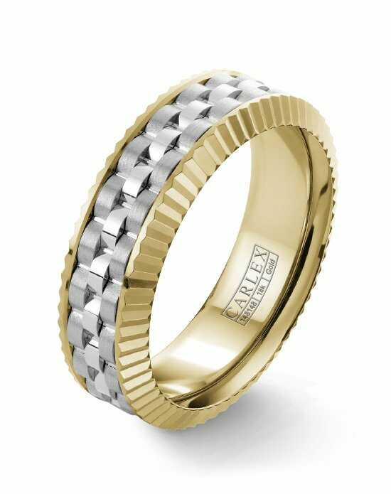 Carlex CX3-0004WWY Gold Wedding Ring