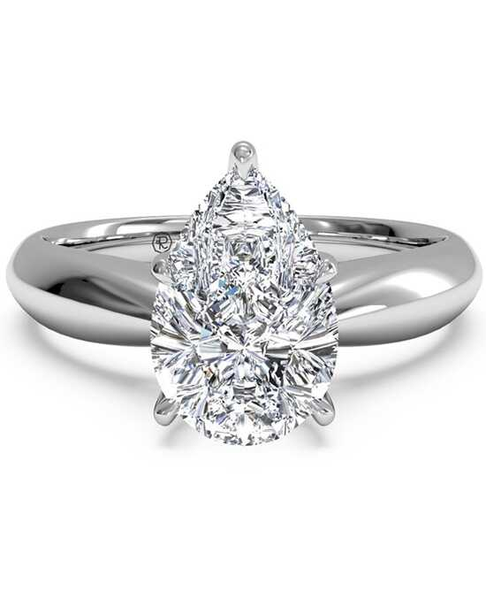 Ritani Classic Pear Cut Engagement Ring