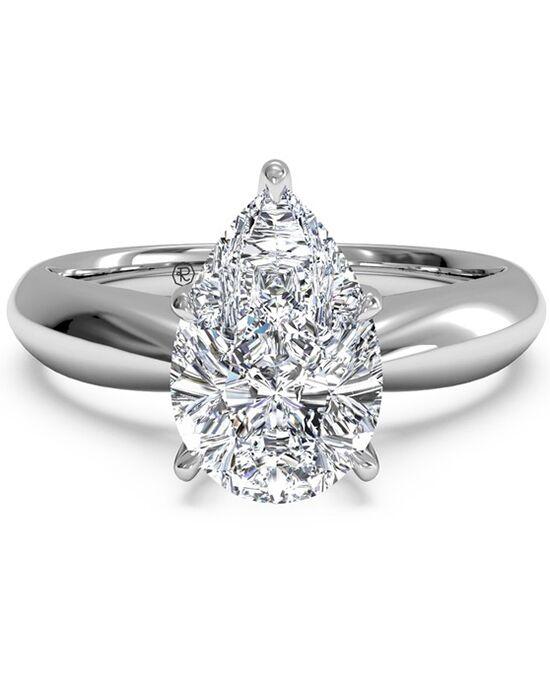Ritani. Solitaire Diamond Tapered Engagement Ring ...
