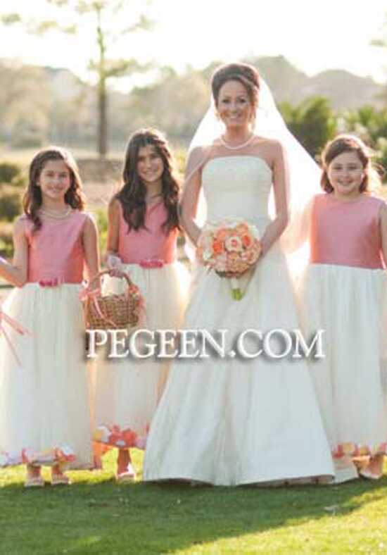 Pegeen.com 331 Black Flower Girl Dress