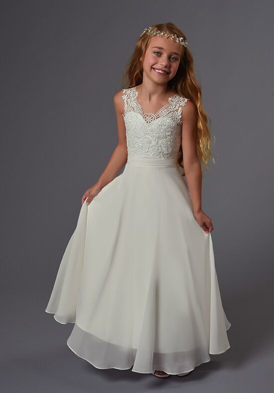 Cupids by Mary's F565 Ivory Flower Girl Dress