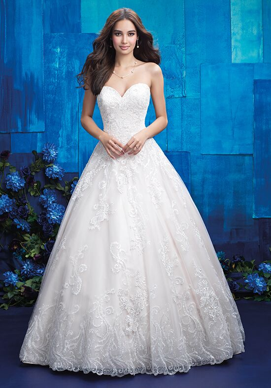 Allure Bridals 9413 Ball Gown Wedding Dress