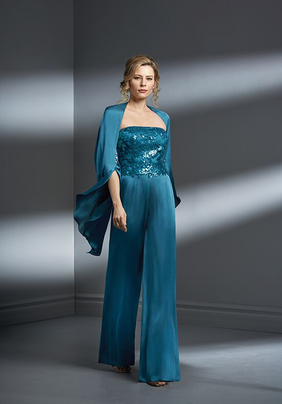 Jade Couture K198067 Blue Mother Of The Bride Dress