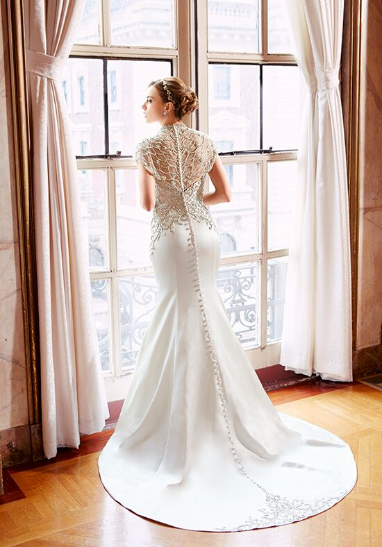 Moonlight Couture H1295 Mermaid Wedding Dress