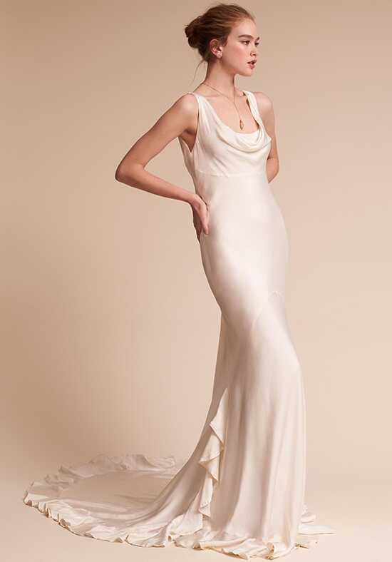 BHLDN Willow Sheath Wedding Dress