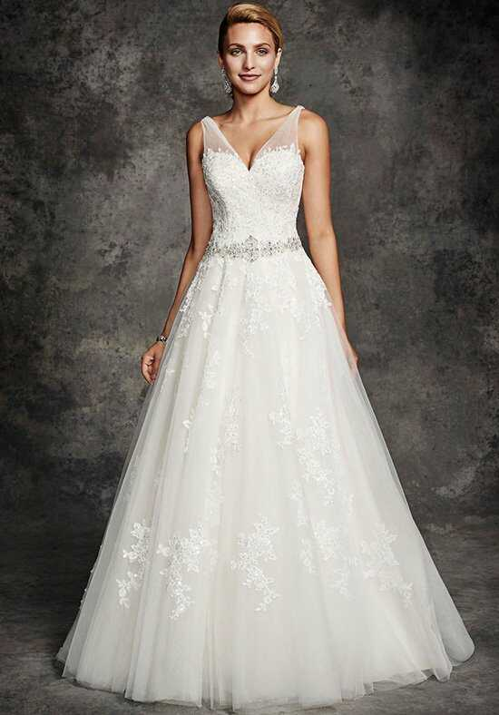Ella Rosa BE254 A-Line Wedding Dress