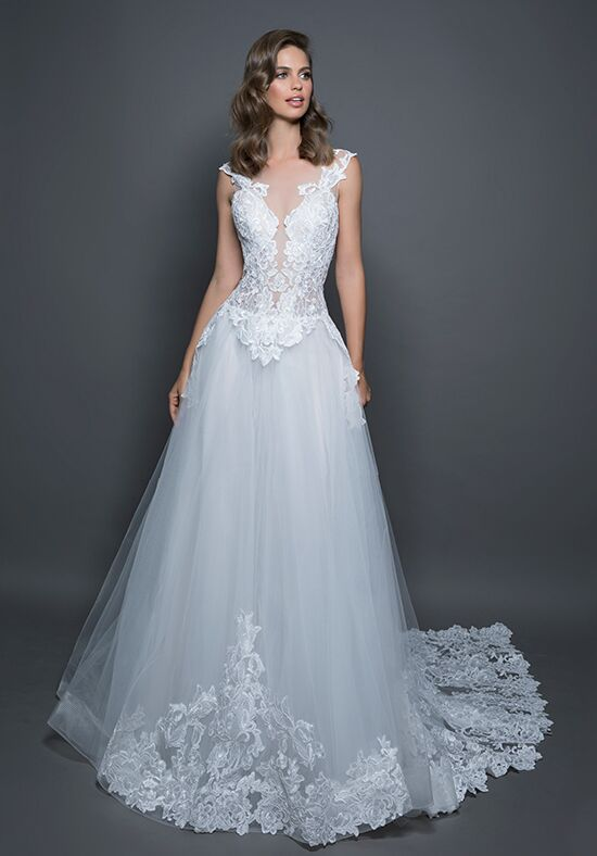 LOVE by Pnina Tornai for Kleinfeld 14599 A-Line Wedding Dress