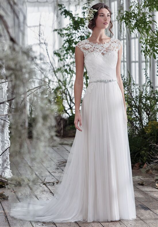 Maggie Sottero Patience Lynette Sheath Wedding Dress