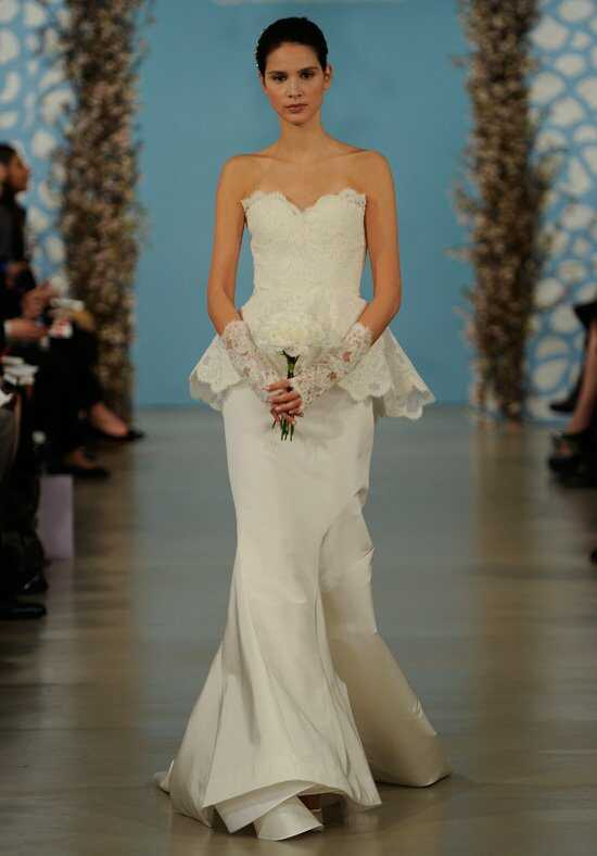 Oscar de la Renta Bridal 2014 Look 16 Wedding Dress photo
