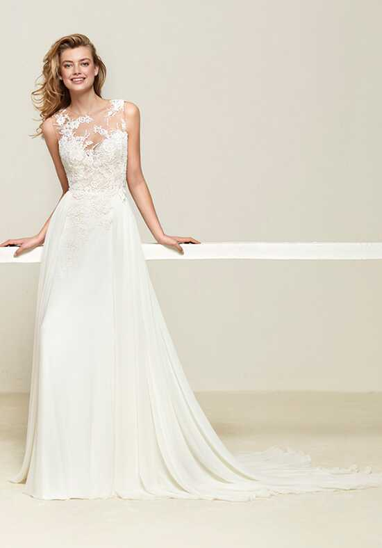 PRONOVIAS DREPEA Sheath Wedding Dress