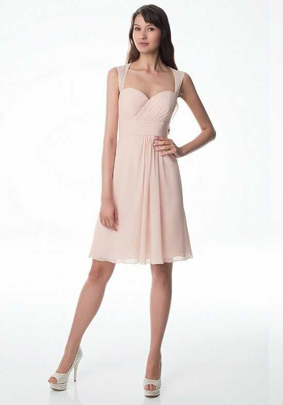Bill Levkoff 973 Strapless Bridesmaid Dress