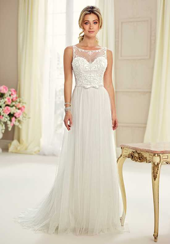 Illusion Neckline Wedding Dresses